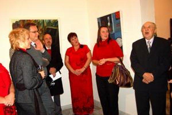 Obrazy za 100-tisíc eur. Darovanie obrazov potvrdil podpisom nielen majster Bubán, ale aj riaditeľ múzea a podpredseda KSK.