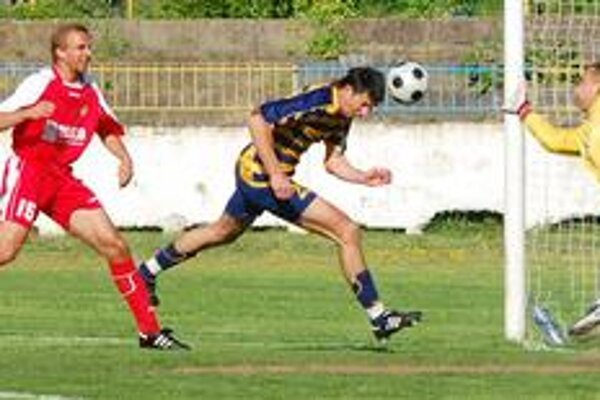 Gól. Takto zatiaľ padol posledný oficiálny víťazný gól na ihrisku MFK Zemplín. Jeho autorom bol v apríli proti Šali D. Sninský.