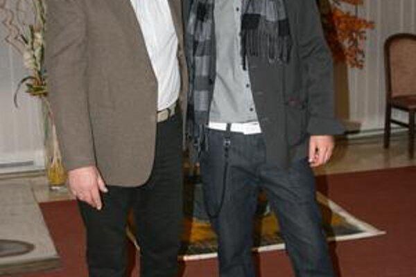 Výtvarníci. Ladislav a Radoslav Repickí.