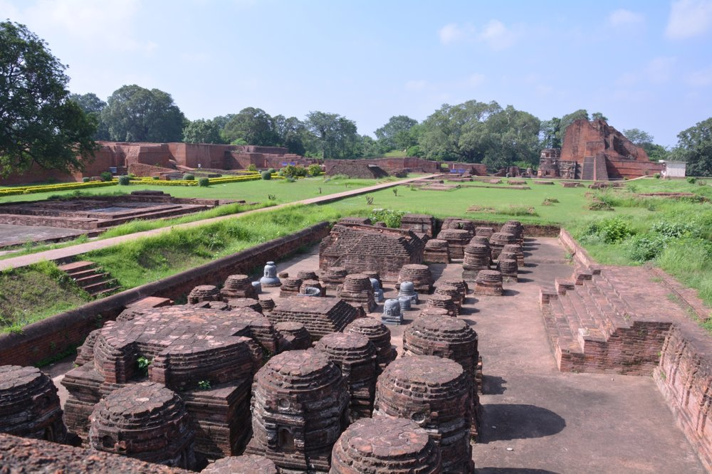 Archeologické nálezisko Nálanda, India