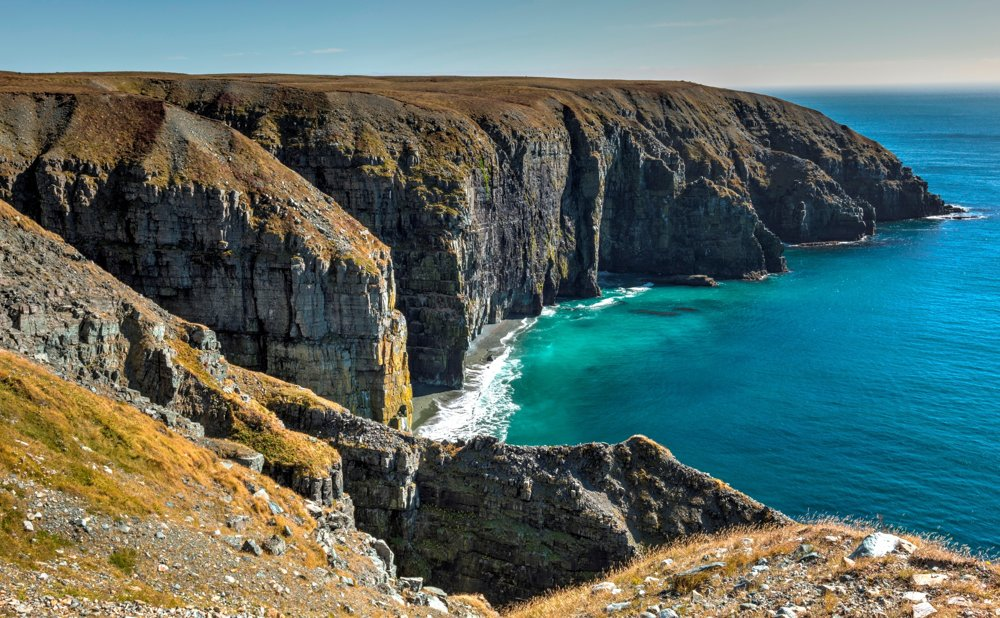 Rezervácia Mistaken Point na Newfoundlande, Kanada
