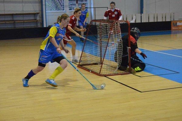 Gólové hody. Kométa nadelila Kysučankám vplay-off 28 gólov.