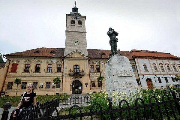 Budova Baníckeho múzea v Gelnici.