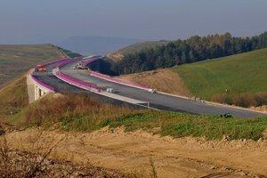 Nový most pri Iliašovciach.