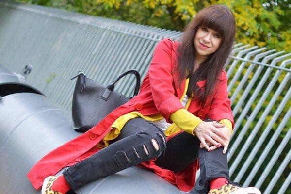 K. Jakubčová. Je nádejnou módnou blogerkou.