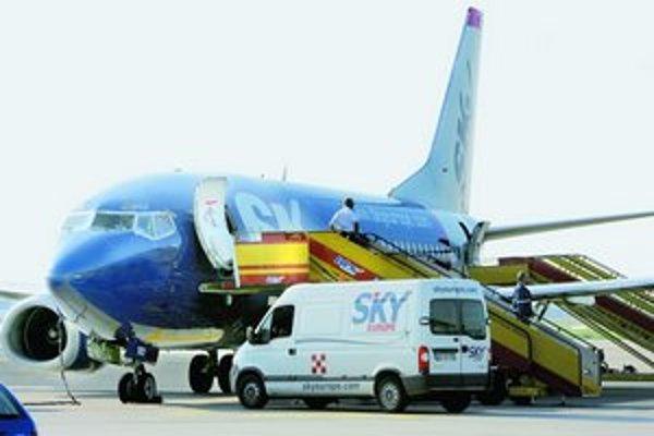 Sky Europe chce opäť lietať na svojich lietadlách.