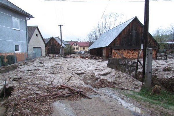 Takto dokáže vyčíňať voda v Olšavici