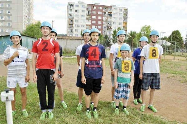 Hasiči zo SNV. Cestujú na olympiádu.