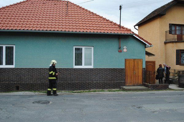 Dom, v ktorom došlo k tragédii.