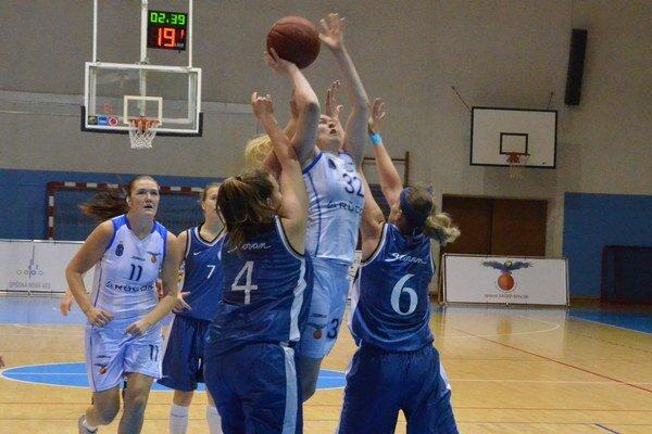 Nedeľa bola víťazná. V sobotu sa v Miskolci basketbalistkám zo Spiša nevydaril zápas, ale nahradili si to v nedeľu.