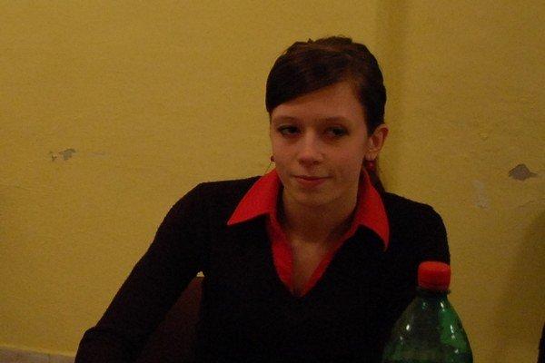 Poslankyňa Chudíková. Bola najmladšou poslankyňou v mestských zastupiteľstvách zo šiestich miest Spiša.