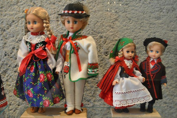 Výstava bábik.