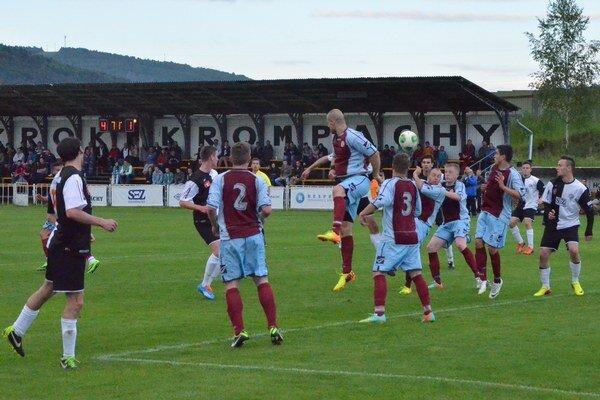 Chýbal kúsok šťastia. Predovšetkým zbytočne veľa remíz pripravilo Krompachy o tretiu najvyššiu slovenskú futbalovú ligu.