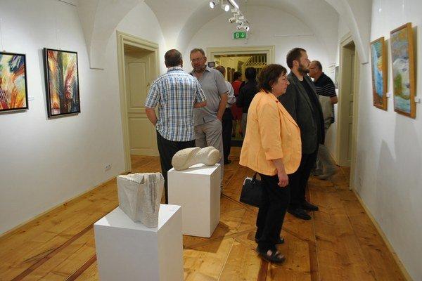 Galéria mesta Levoča. Otváracou výstavou boli diela Levočanov.