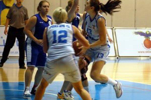 Dobrý začiatok. Do nového roka vstúpili spišskonovoveské basketbalistky víťazstvom nad Petržalkou.