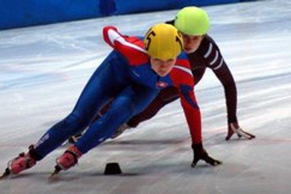 Tatiana Bodová. Na majstrovstvách Európy sa predstavila v dobrej forme.