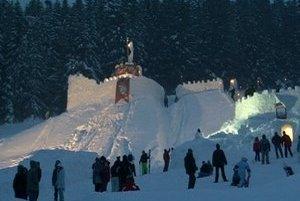 Zimný hrad.