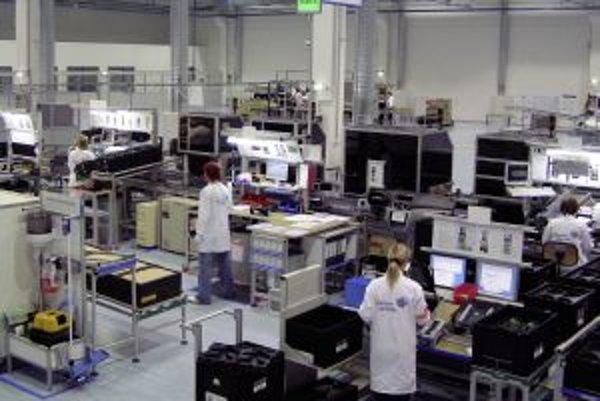 Výrobna linka na produkciu prístrojových dosiek Johnson Controls v Námestove