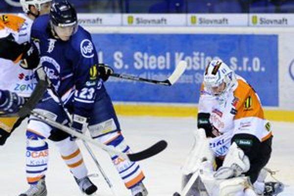 Ladislav Ščurko ešte v modrom košickom drese.