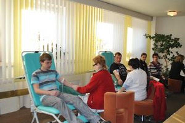 Martin a Branislav krv darovali po druhýkrát.