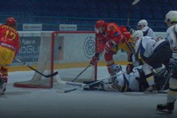 Posledný gól sezóny. Seničan Vaškovič takto rozhodol gólom na 4:2 o osude druhého play–off stretnutia.