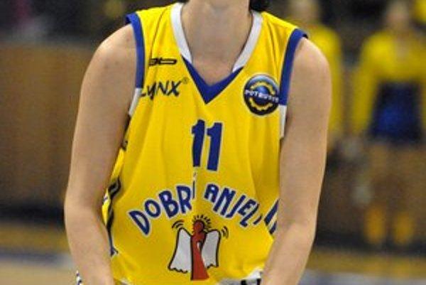 Ivana Jalčová ešte v čase keď hrávala za Košice. Najväčšia posila extraligového nováčika.