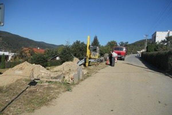 Poškodený plynovod. Škoda prekročila 6-tisíc eur.