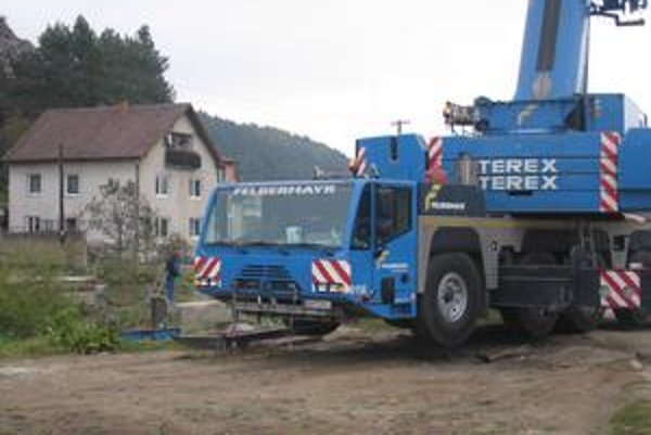 Začiatok. Takto stavbu rozbehli v októbri, vtedy ešte netušili, že projekt budú musieť dať poopraviť.