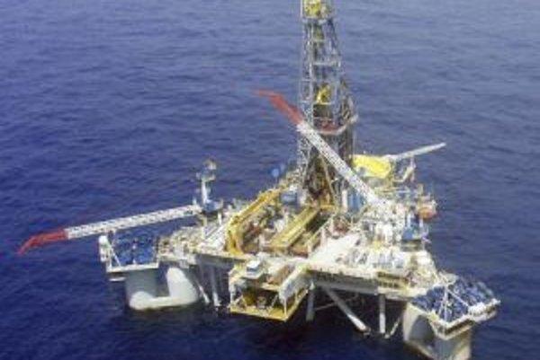 Ropná plošina spoločnosti Noble v Mexickom zálive.