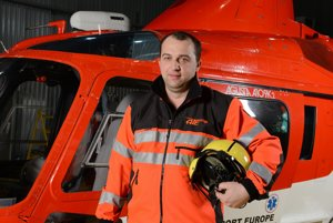 Letecký záchranár Martin Svitana, ktorý zahynul pri páde vrtuľníka.