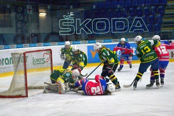 Titul majú na dosah. Popradčanky vedú vo finále nad Prešovom 2:0 na zápasy.