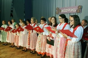 Na podujatí vystúpila aj spevácka skupina Schmiedshauer z Tužiny.