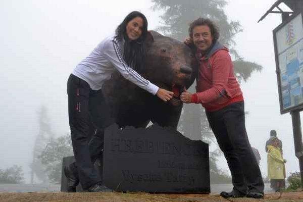 Medveď Kubo bude chrániť turistov.
