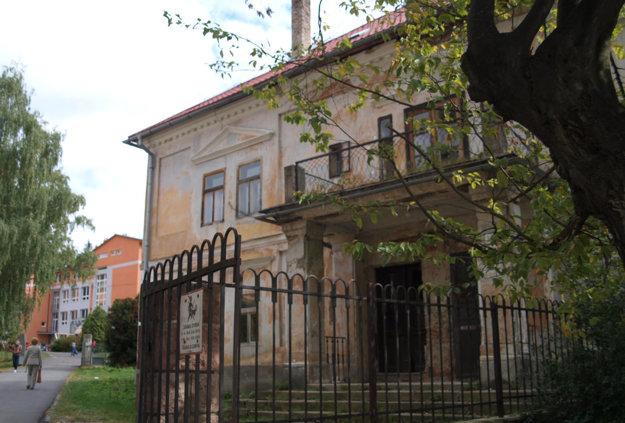Zechenterov dom v Kremnici.