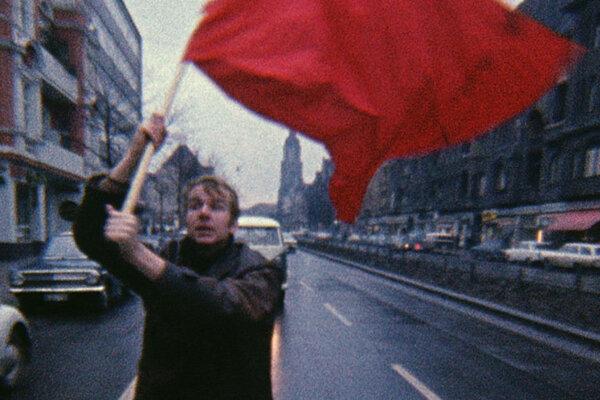 Terorizmus ako happening. Vo filme Nemecká mládež.