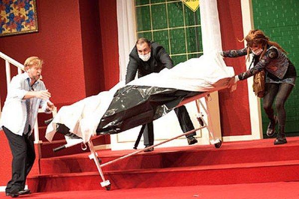 Premiéra komédie Z rúčky do rúčky bola v piatok 6. novembra.