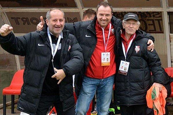 Realizačný tím na čele s Miroslavom Hrdinom mal v sobotu dôvod na radosť.