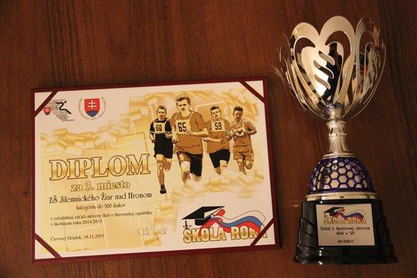 Žiarska štvorka aj tento rok získala ocenenie Škola roka.