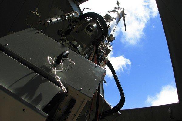Koronálny multikanálový polarimeter v Observatóriu na Lomnickom štíte.