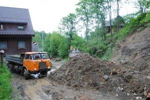 Ničivá povodeň sa prehnala Jezerskom v lete.