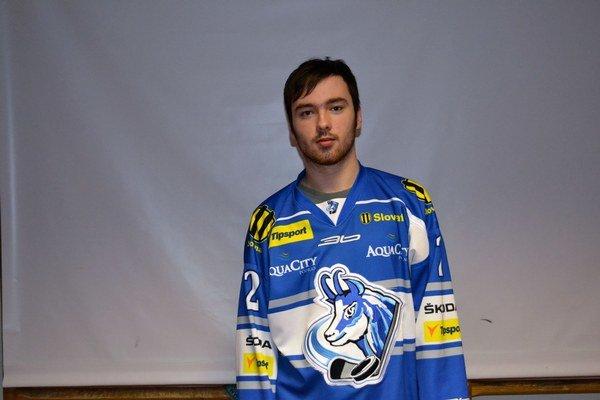 Peter Hrehorčák. Medzi seniormi zažil debut ako hrom.