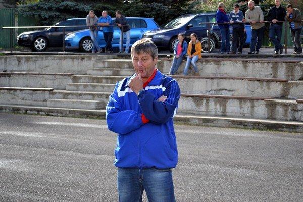 Milan Sabo. Tréner ŠK Štrba mohol byť spokojný.