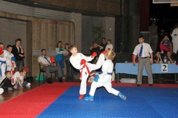 Zvíťazil. Marek Tomajka (vľavo) v akcii.
