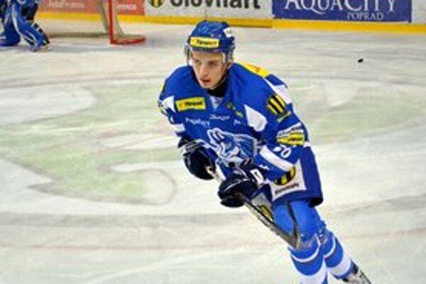 Daniel Brejčák. V Piešťanoch zaznamenal dve gólové prihrávky.