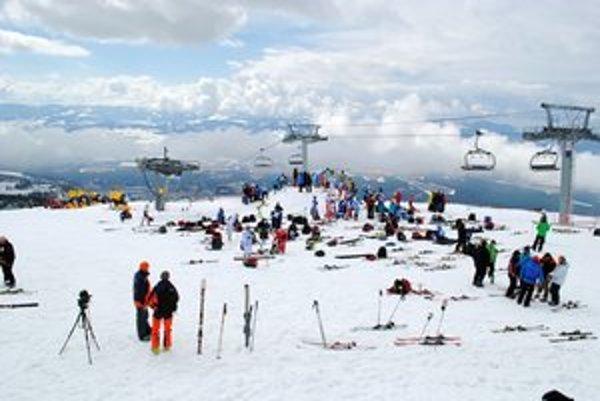 Žampa kemp. Mladí lyžiari okúsili život pretekára.