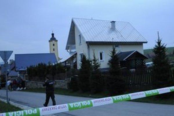 Dom, kde sa stala brutálna vražda.