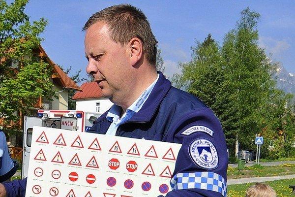 Zástupca náčelníka MsP Jozef Štefaňák.
