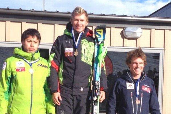 Adam Žampa. Vyhral včerajší slalom na Novom Zélande.