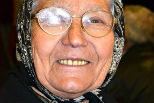 Teta Balogová. Ako mladá sa pred kúpačmi skrývala.