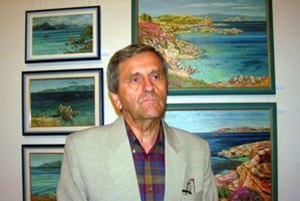 František Žoldák. Dlhoročný regionálny výtvarník.